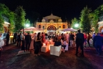 Moonlight realisiert erfolgreiches Outdoor Industrie Event im Kurhauspark Göggingen